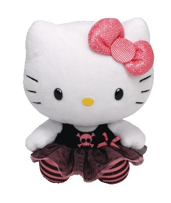 Peluche Hello Kitty Punk 15 cm