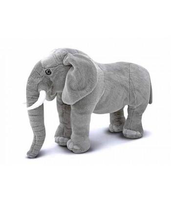 Peluche Eléphant Réaliste 70 cm