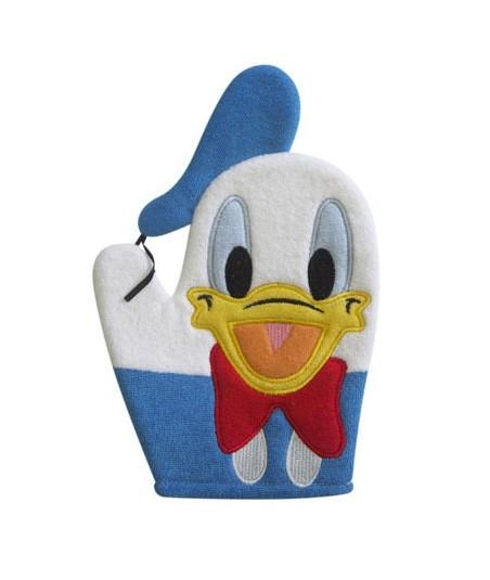 Gant de toilette Disney Donald