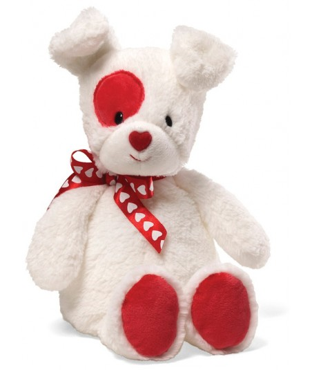 Peluche chien Gund Love Patch 28 cm