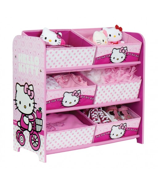 Etagère Hello Kitty 6 corbeilles