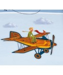 Parure Housse de couette Le petit prince 3D Aviator