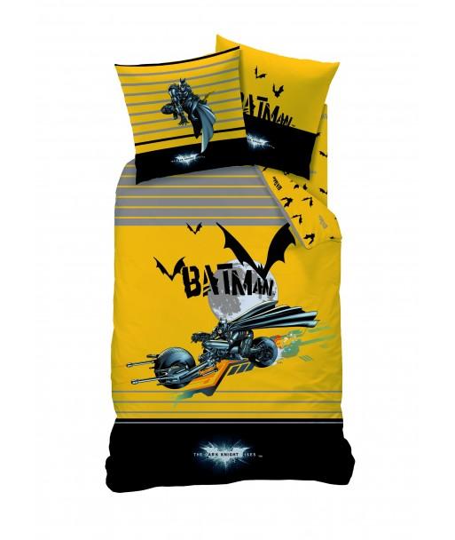 Parure Housse de Couette Batman Batmobile