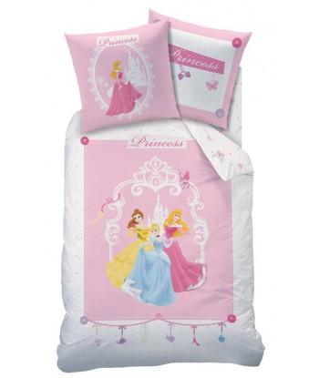 Parure Housse de Couette Disney Princesses Charms