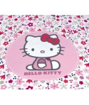 Parure Housse de couette Hello Kitty Flora