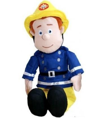 Peluche Sam le Pompier 60 cm