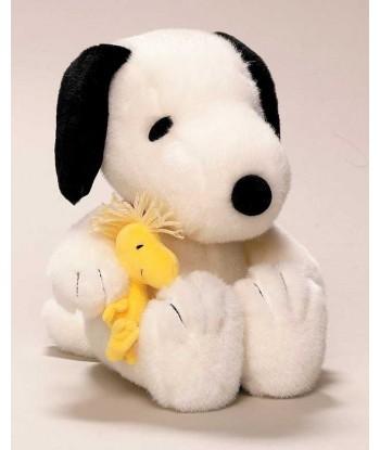 Peluche Snoopy et Woodstock classic 24 cm