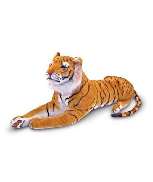 Peluche Tigre Roux Géant Réaliste 170 cm