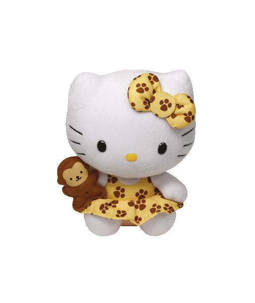 Peluche Hello Kitty Safari 15 cm