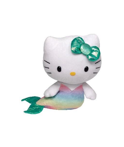 Peluche Hello Kitty Sirène 15 cm