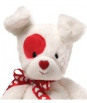 Peluche Gund Love Patch le chien