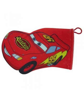 Gant de toilette Disney Cars