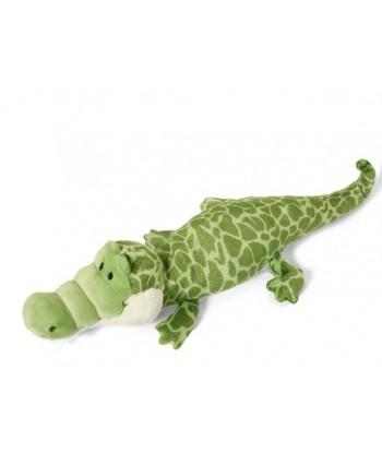Peluche Nici Crocodile couché 30 cm