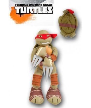 Peluche Tortue ninja Raphael Rouge 33 cm