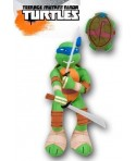 Peluche tortue ninja Leonardo bleu 35 cm