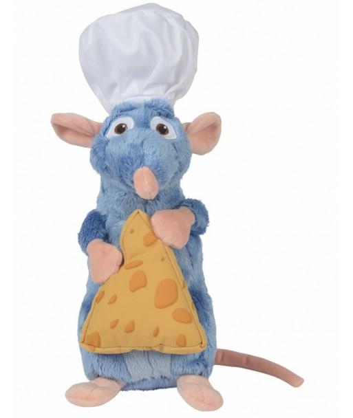 Peluche Remy Ratatouille 25 cm avec fromage