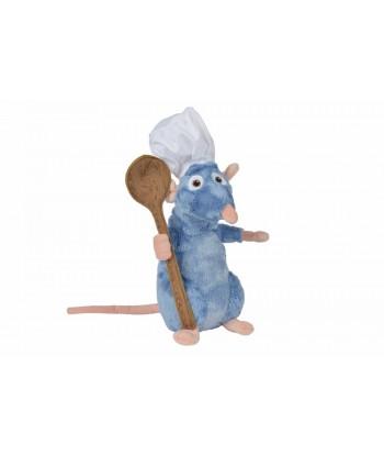 Peluche Remy Ratatouille 25 cm avec cuillere